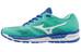 Mizuno Synchro MX - Zapatillas para correr Mujer - verde/azul